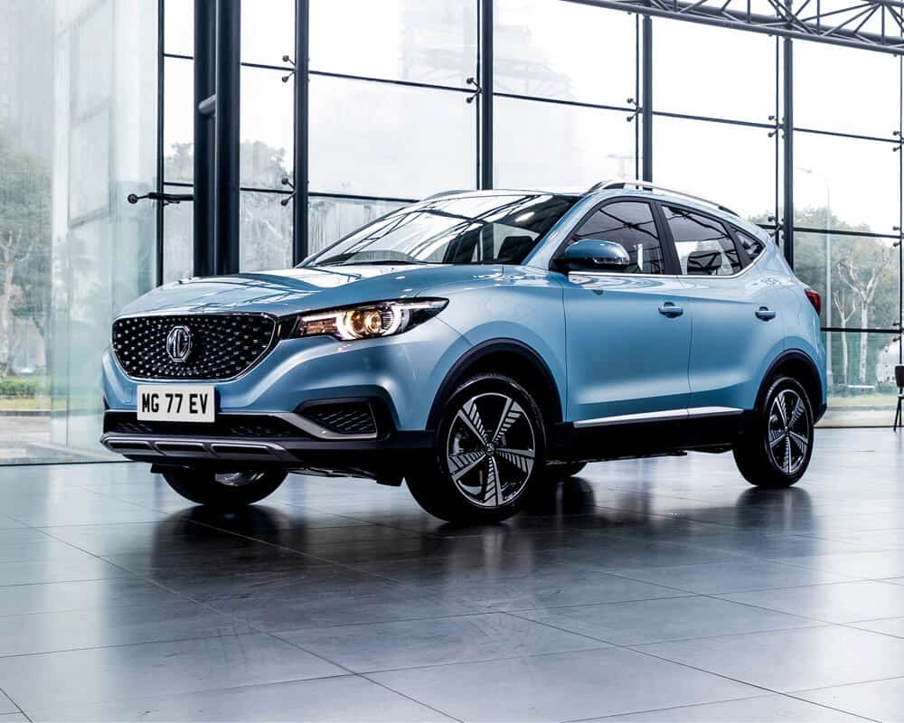 Electric Car - MG-ZS-EV